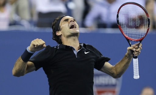 Federer Roars Back Against Monfils To Reach US Open Semifinals