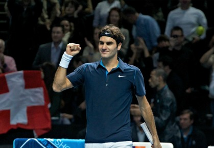 Roger Federer receives a favorable draw at the ATP World Tour Finals in London