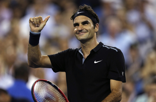 Federer Marches Into 10th US Open Quarterfinal