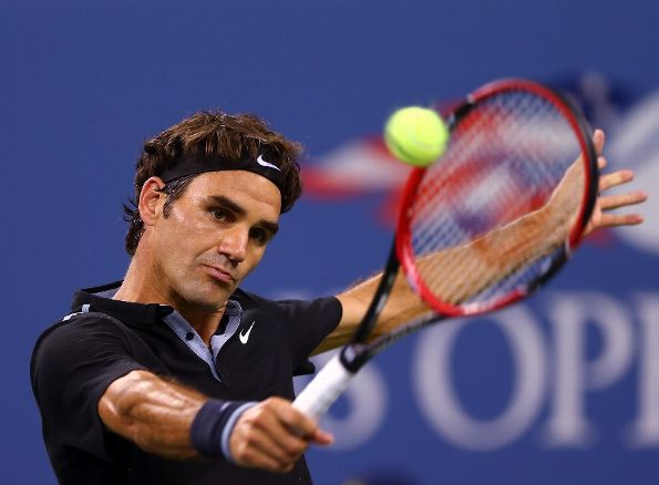 Federer Wins Over Matosevic in Celebrity Focused Night at US Open