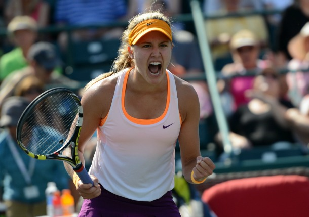 Bouchard Battles Past Venus to Reach Charleston Quarters
