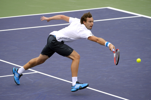Gulbis Finds His Hot Shots to Beat Dimitrov at Indian Wells
