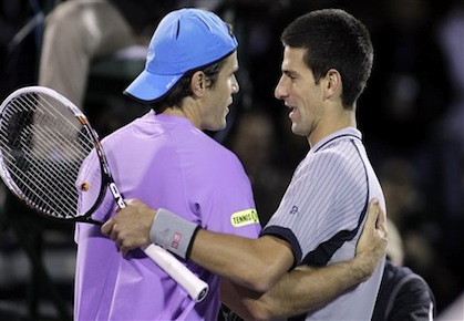 Red Hot Haas Ices Djokovic in Miami