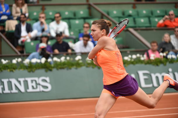 Halep Halts Stephens On Her Way to French Open Quarterfinals