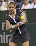 2010 Indian Wells Kim Clijsters Backhand