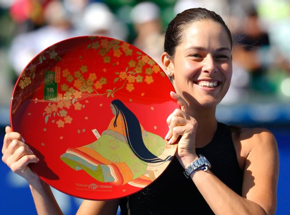 Ana Ivanovic Wins Fourth Title of Year in Tokyo