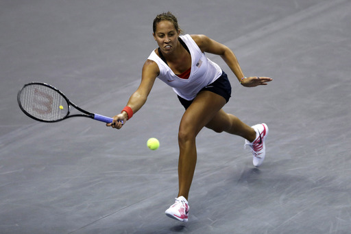 Keys Keeps U.S. Fed Cup Team Level with France After Comeback Win