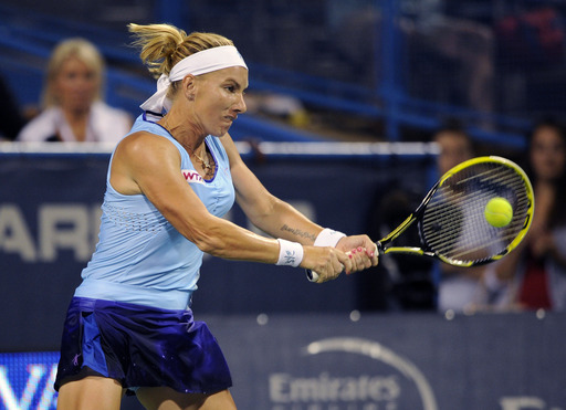 Kuznetsova Races Into Citi Open Final Versus Nara