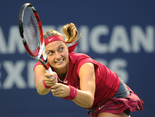 Kvitova Enters Third Straight New Haven Final Over Stosur