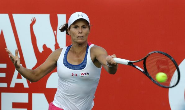 Lepchenko Reaches First WTA Final in Seoul After Saving Match Point