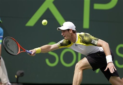 Andy Murray Sony Open Tennis