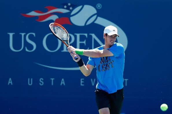 Andy Murray US Open Practice