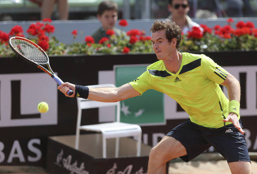 Murray Birthday Win Sets Up Nadal Test in Rome   - Tennis Now