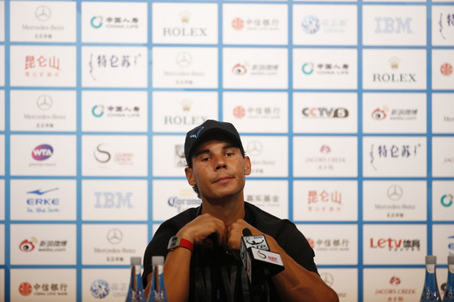 "Rafael Nadal Says ""I Am Fine"" Before Beijing Start"