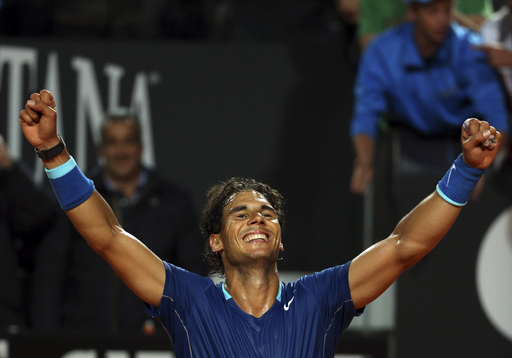 With Easy Win, Nadal Sets Up Rome Final Versus Djokovic    - Tennis Now