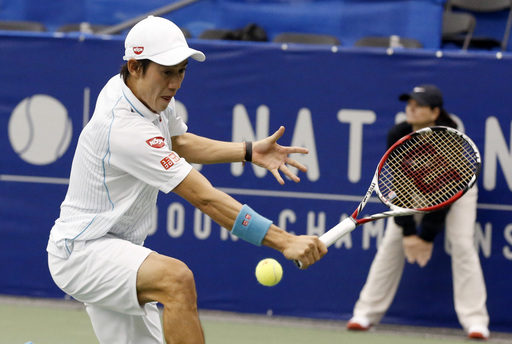 Defending Champion Nishikori Back Into Memphis Finals
