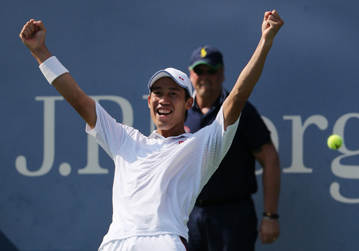 Nishikori Outlasts Djokovic To Reach First Grand Slam Final in New York