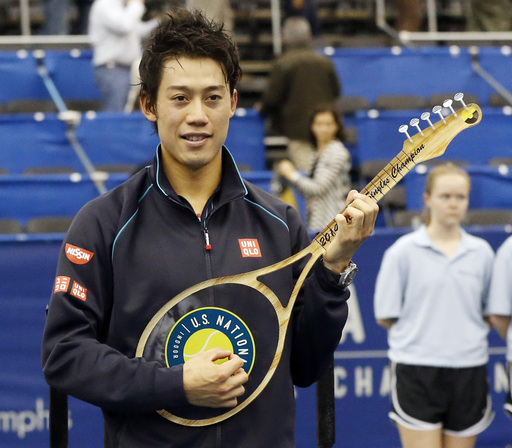 Kei Nishikori Defends Memphis Title Over Karlovic
