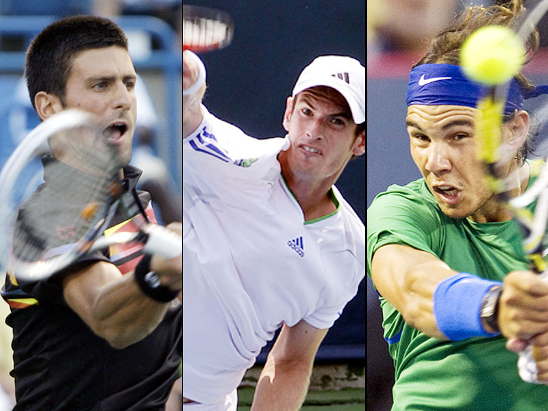 Andy Murray, Novak Djokovic, Rafael Nadal Top Picks in IPTL draft