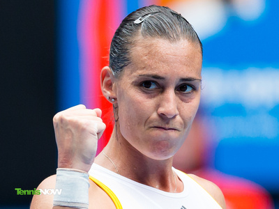 Pennetta Not Thrilled about Challenging Midday Shadows on Ashe