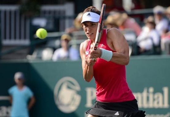 Andrea Petkovic Happy with New Coach, New Outlook in Charleston