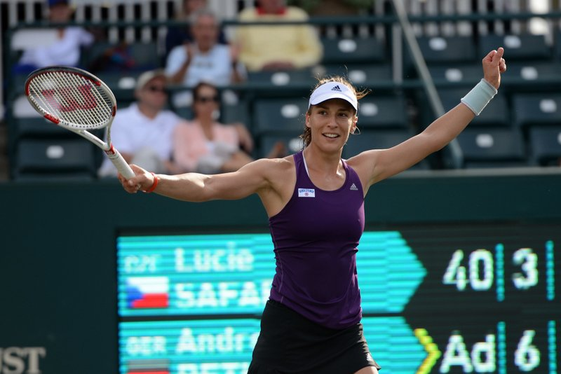 Andrea Petkovic Claims Charleston Title Over Cepelova