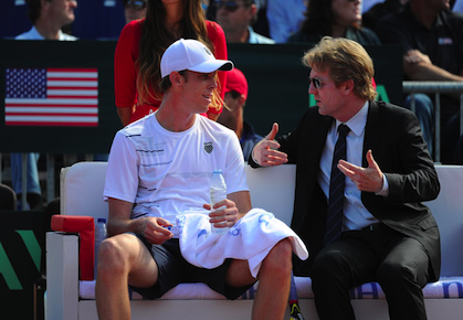 Sam Querrey Jim Courier