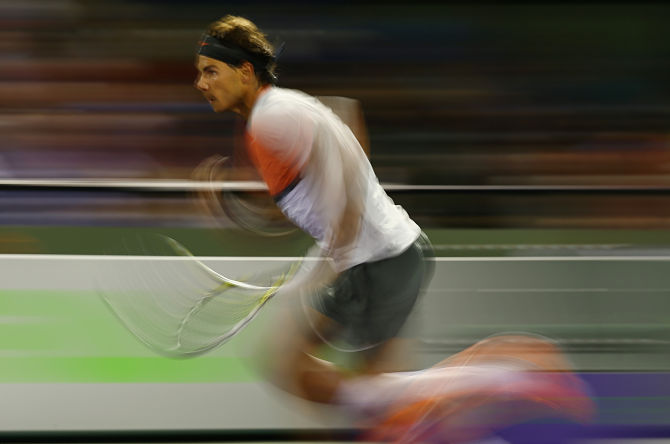 Nadal's Back Troubles Appear to Be Behind Him after Rout of Hewitt   - Tennis Now