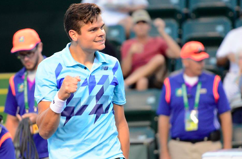 Raonic Rallies Past Murray To Reach Indian Wells Quarters