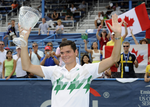 Raonic Wins Biggest Career Title in D.C. Over Countryman Pospisil