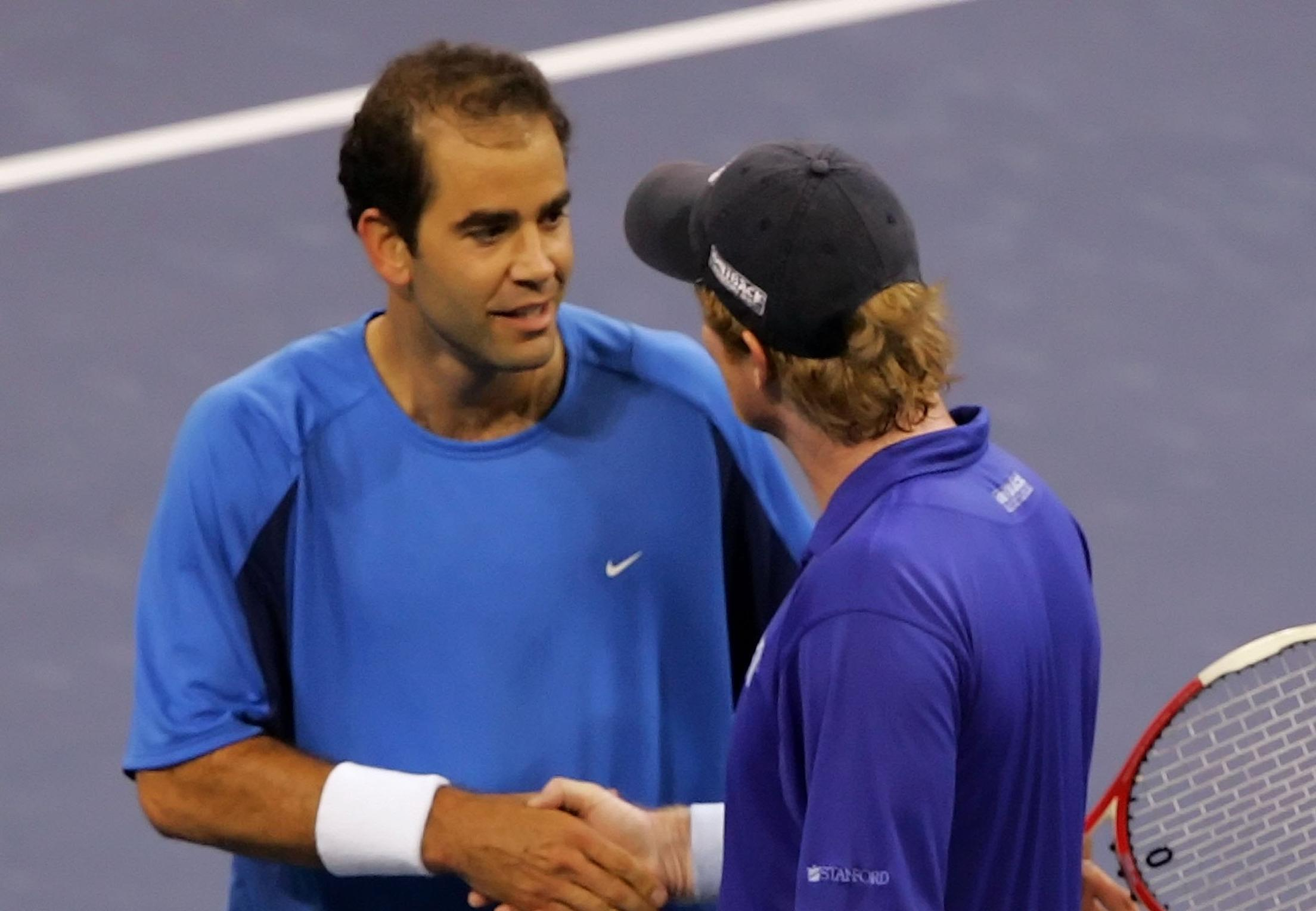 e Sided Rivalry Pete Sampras vs Jim Courier Tennis Now