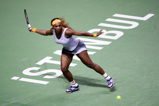 Serena Cruises as Azarenka, Kvitova Win on Day One at Istanbul