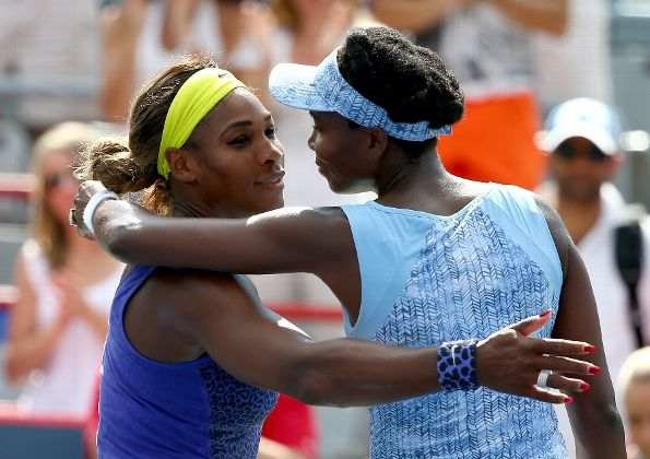 Venus and Serena Montreal Semifinals 2014