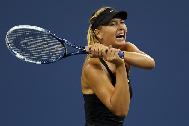 On Tap: Sharapova and Dimitrov Both Aim For US Open Second Week
