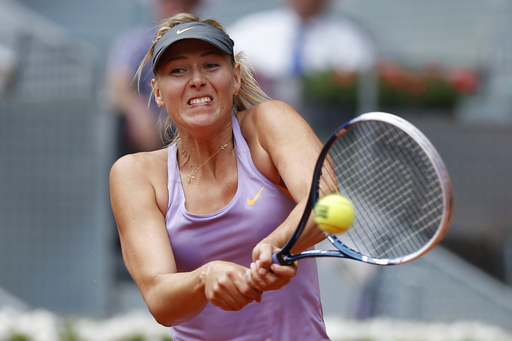 Sharapova Battles Back Against McHale in Madrid
