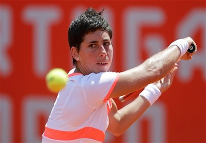 Suarez Navarro Sweeps Past Kanepi; Reaches Oeiras Finals