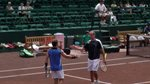 Mike Russell and Xavier Malisse doubles team