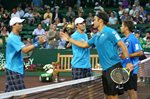 Bryan Brothers win match