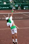 Nicolas Massu serve