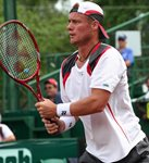 Lleyton Hewitt ready position