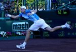 2010 US Men's Clay Court Championship Houston John Isner Reach