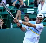 2010 US Men's Clay Court Championship Houston Juan Ignacio Chela Smile Backhand