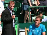 2010 US Men's Clay Court Championship Houston Sam Querrey Interview Tennis Chanel