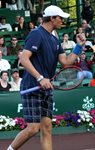 2010 US Men's Clay Court Championship Houston Bob Bryan Fist