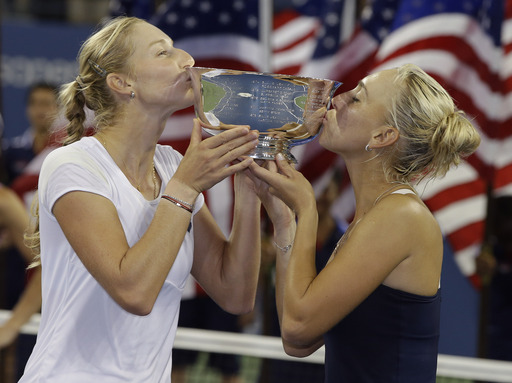 Russian Duo Wins US Open Women's Doubles Title
