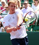 2010 US Men's Clay Court Championship Houston Final Sam Querrey Backhand Follow Through