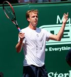 2010 US Men's Clay Court Championship Houston Final Sam Querrey Backhand Frusterated