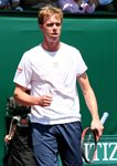 2010 US Men's Clay Court Championship Houston Final Sam Querrey Fist