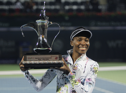 Venus Victorious: Williams Conquers Cornet to Win Third Dubai Title