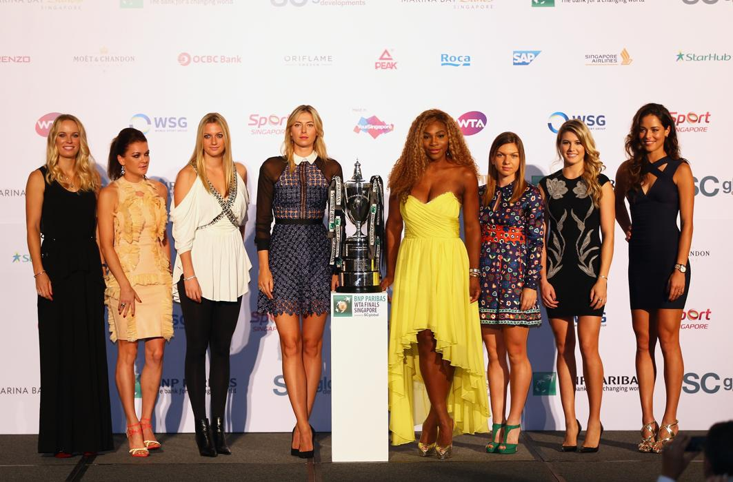 WTA Finals Groups Announced in Singapore